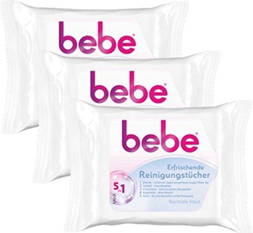 bebe 5in1 Erfrischende Reinigungstücher –...
