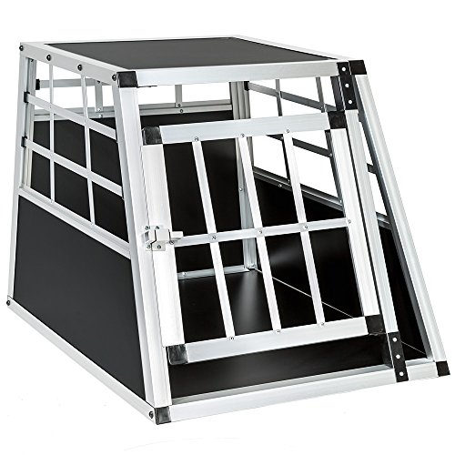 TecTake Alu Hundetransportbox small single (B/TH:...