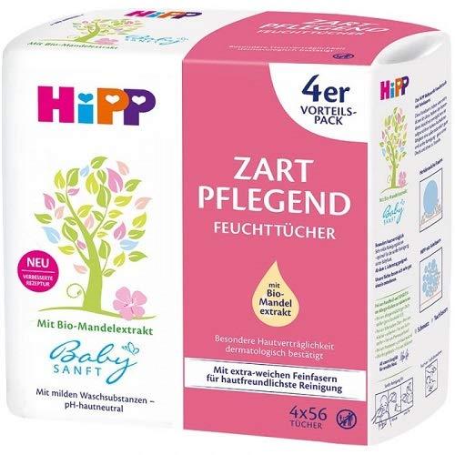 HiPP Babysanft Feuchttücher zart pflegend, 3er Pack (Jede...