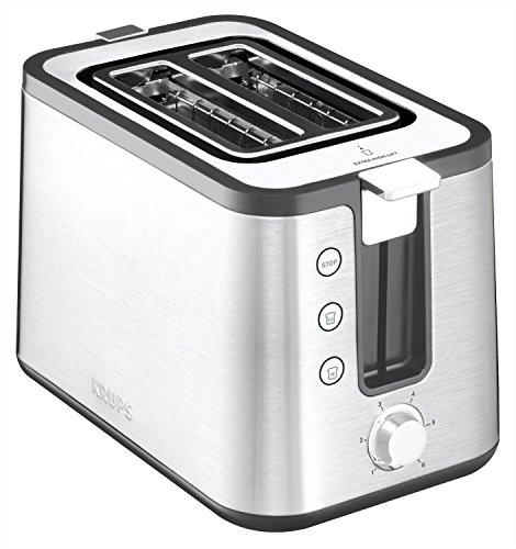 Krups KH442D Control Line Premium Toaster, Edelstahl,...