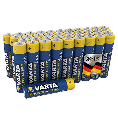 VARTA Industrial Batterie AAA Micro Alkaline Batterien LR03...