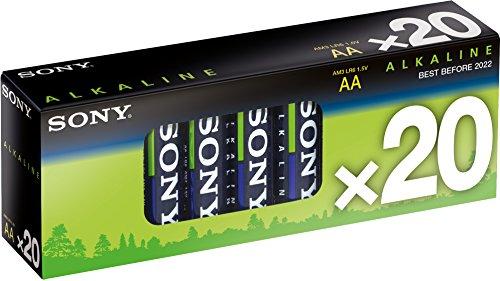 Sony AM3M20X Multipack Alkaline, AA, LR6 (1,5V, 20er Pack)