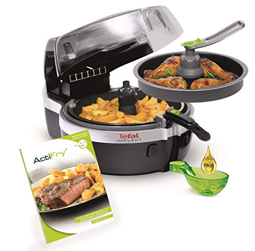 Tefal YV9601 ActiFry 2in1 Heißluft-Fritteuse, 1400 Watt,...