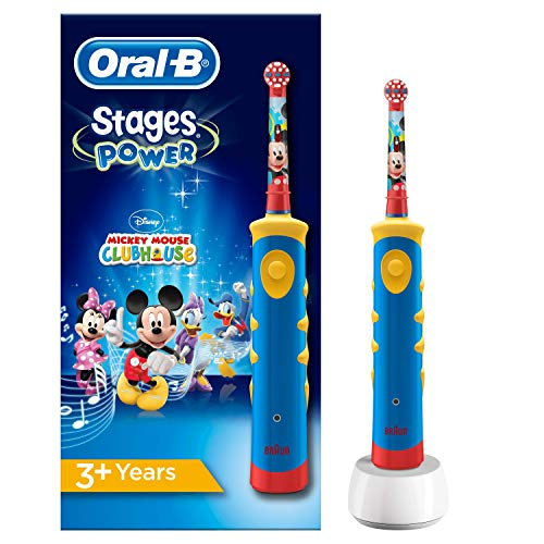 Oral-B Stages Power Mickey Maus Elektrische Zahnbürste,...