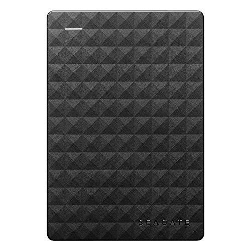 Seagate Expansion Portable, tragbare externe Festplatte 2...