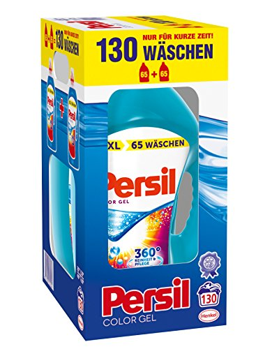Persil Color Gel, 130 Waschladungen, 2er Pack