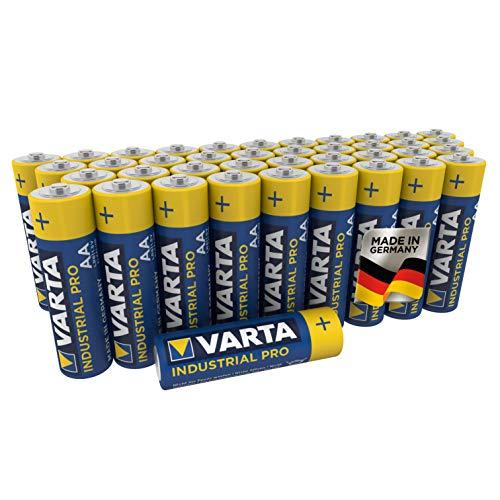 Varta Industrial Batterie (AA Mignon Alkaline Batterien LR6,...