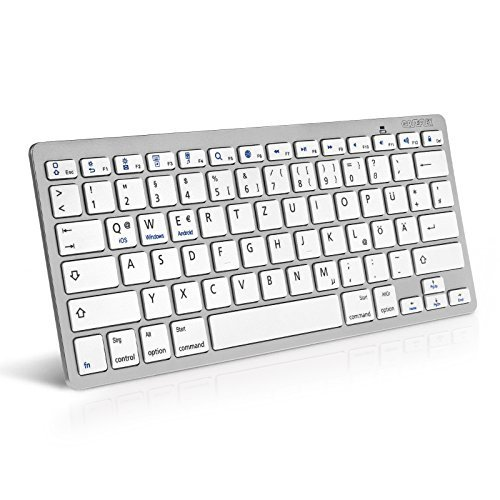 Caseflex Deutsches Layout Kabellose Bluetooth Tastatur...