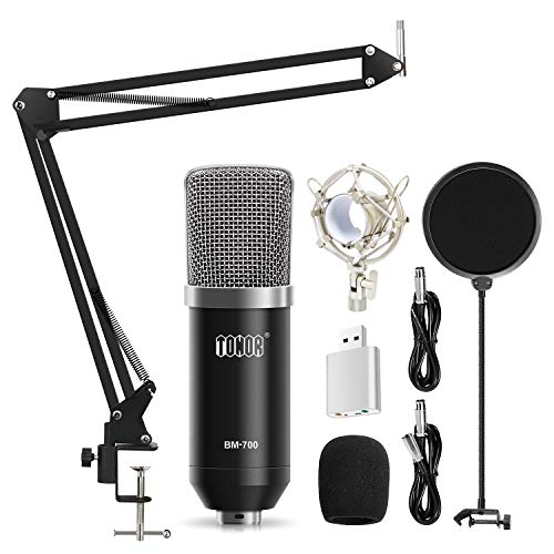 TONOR XLR zu 3,5 mm Kondensator Mikrofon Kit Schall Podcast...