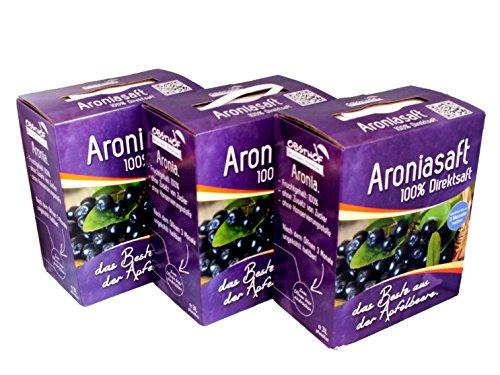 Obsthof Stockinger Aronia Muttersaft Bag in Box Aroniasaft,...