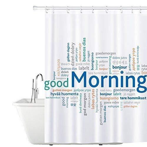 Tatkraft Good Morning Duschvorhang 180X180cm Peva...