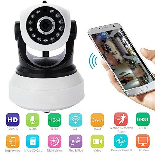 NEXGADGET IP Kamera 1080P HD WLAN 2.4G Überwachungskamera...