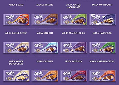Süßigkeiten - Mix 10-teilig, mit ausgefallenen Milka...