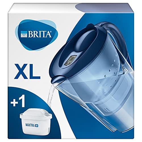 BRITA Carafe filtrante Marella XL bleue - 1 filtre MAXTRA+...