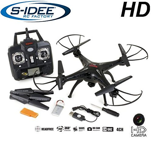 s-idee 01508 Quadrocopter X5SC Explorer Forscher Syma HD...