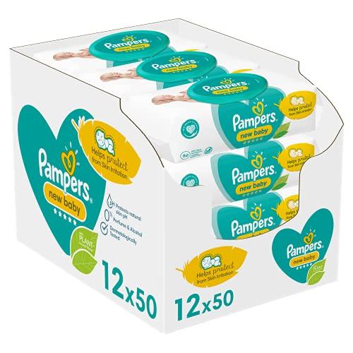 Pampers New Baby Sensitive Feuchttücher, Gigapack, 600...