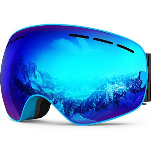 ZIONOR Lagopus X Snowmobile Snowboard Skate Skibrillen mit...