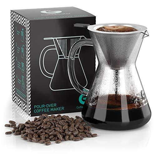 Coffee Gator Pour Over Kaffeebrüher – Mehr Geschmack mit...