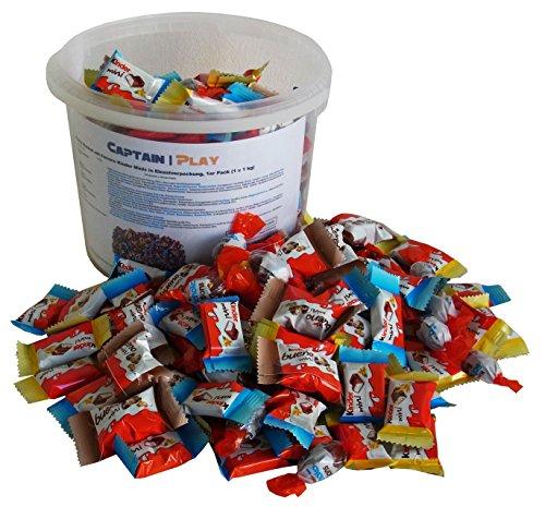 Party Bucket mit Ferrero Kinder Minis in Einzelverpackung,...