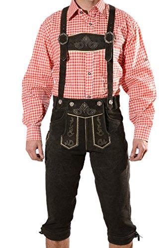 Bayerische Herren Trachten Lederhose, Trachtenlederhose mit...
