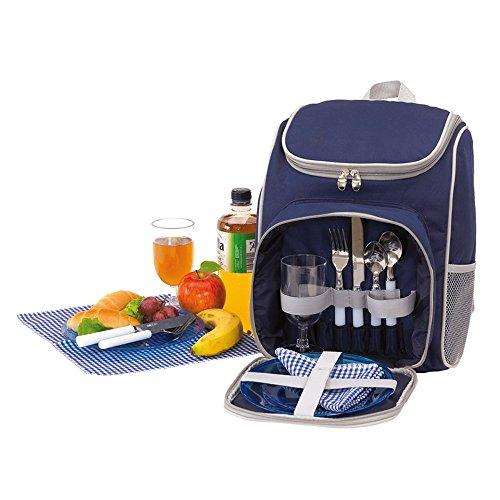 Unbekannt Picknick Rucksack für 2 Personen 27x14x37cm...