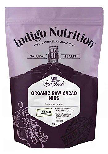 Indigo Herbs Rohe Bio Kakaonibs 1kg | Vegane | Rein & GMO...