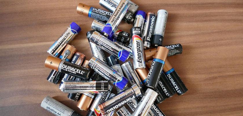 AA-Batterien