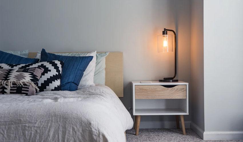 Schlafzimmer Dekoration für mehr Wohlfühlatmosphäre